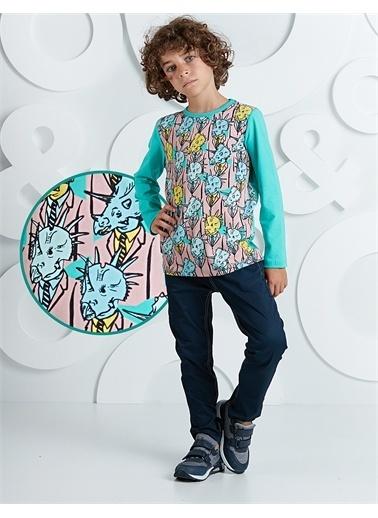 Ollie & olla Fossil Erkek Çocuk Pantolon Takım Renkli